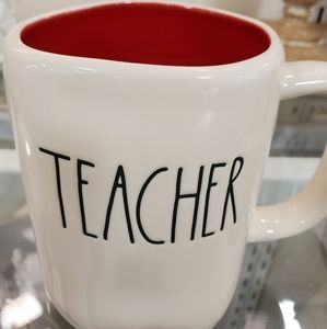 Rae Dunn TEACHER Mug